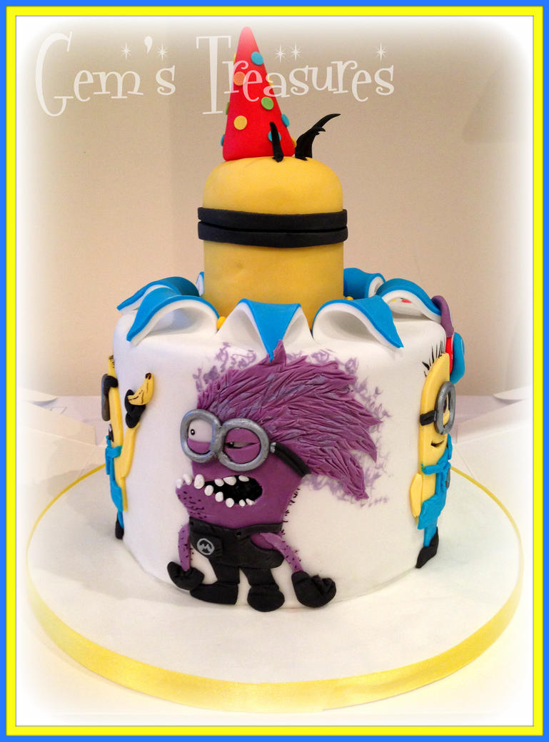 Despicable Me Cake, BANANA! by gertygetsgangster on DeviantArt