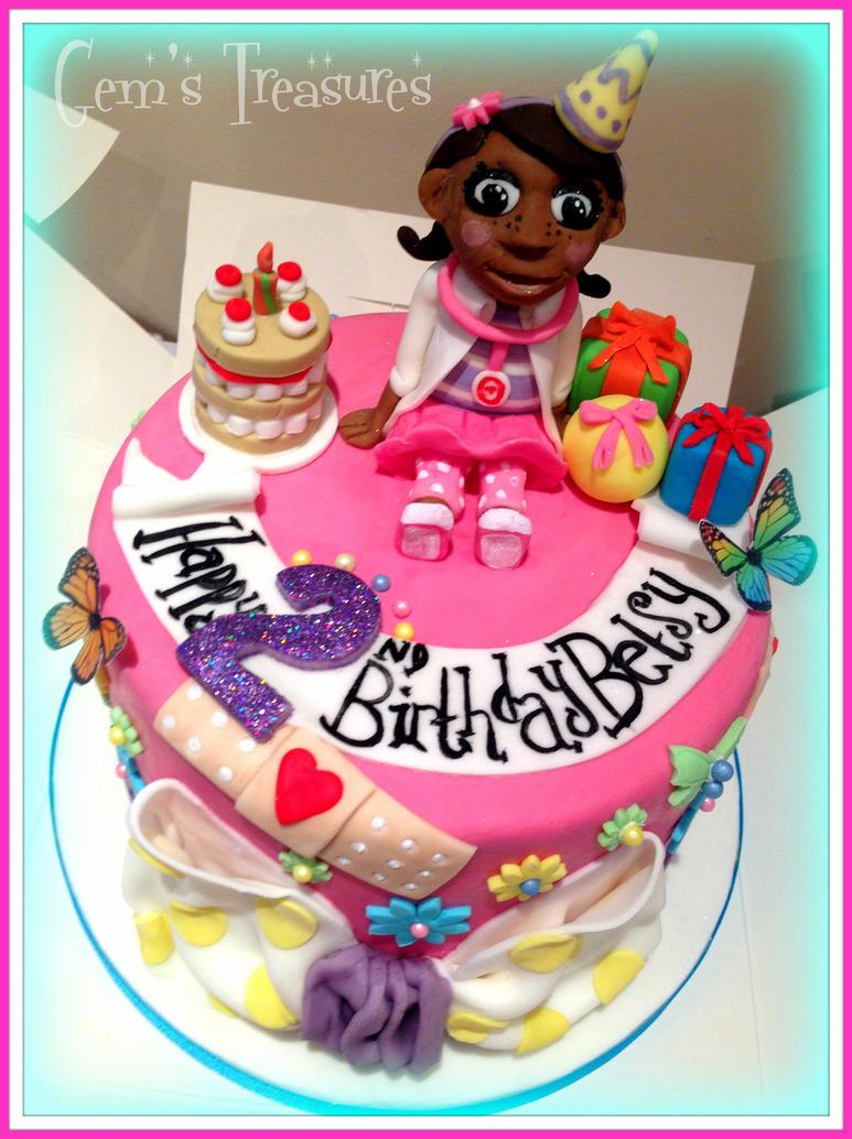 Doc Mcstuffins Cake Doc mcstuffins