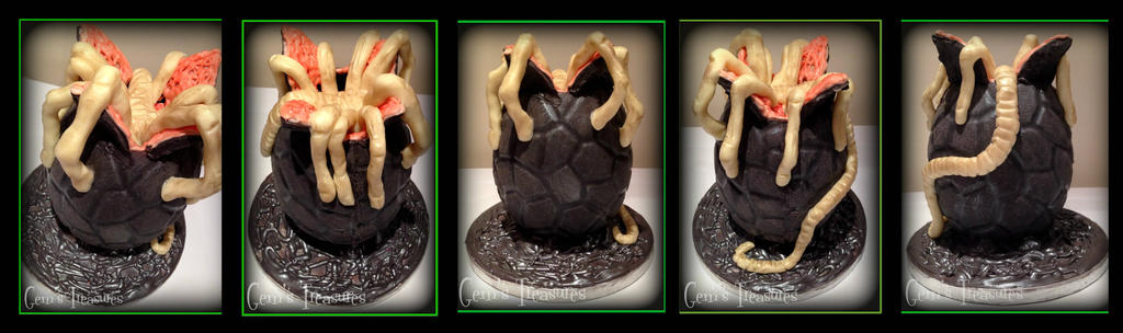 Easter Piece 2014 The Facehugger by gertygetsgangster