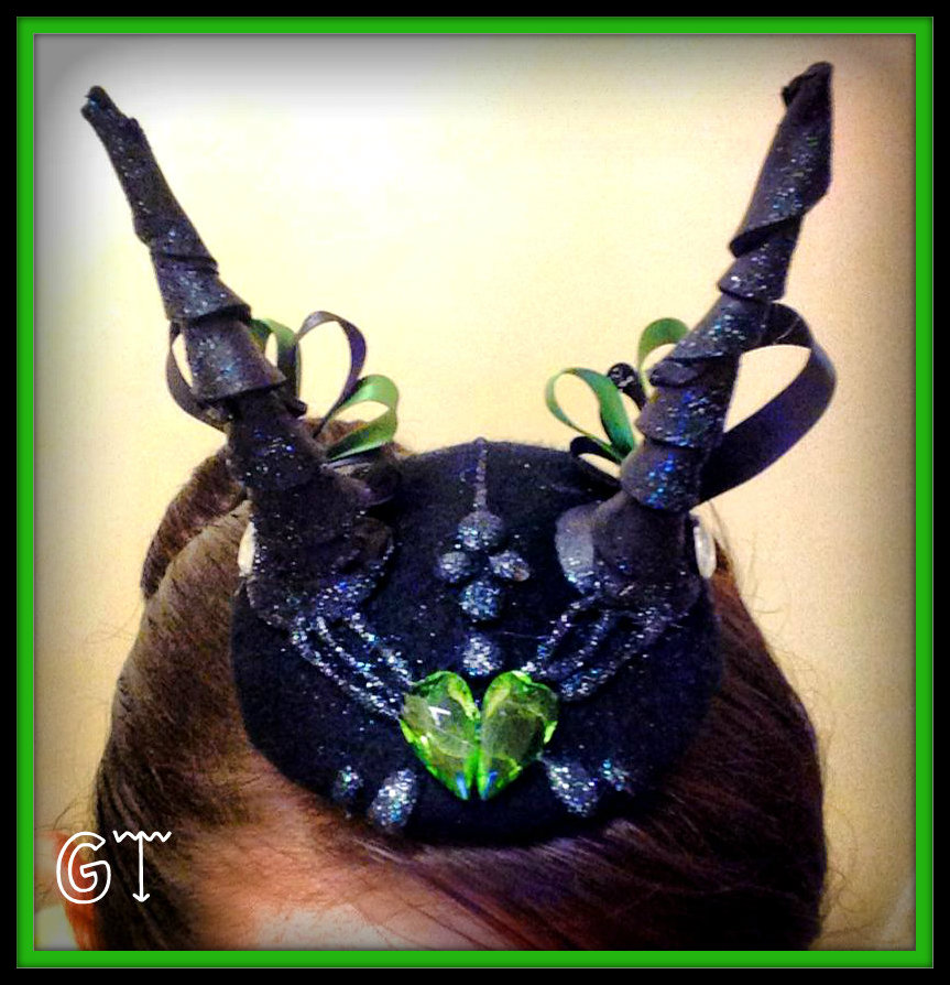 Maleficent Inspired Tiny Hat! by gertygetsgangster