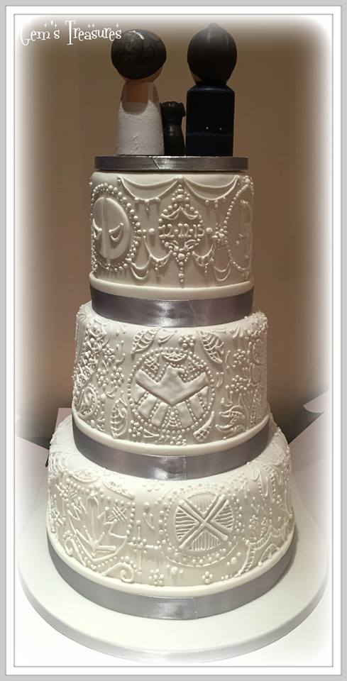Hidden Marvel Wedding Cake By Gertygetsgangster On Deviantart