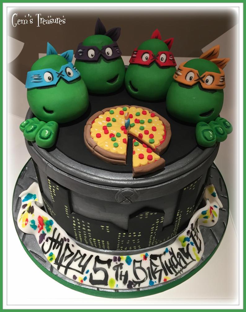 Teenage Mutant Ninja Turtles! by gertygetsgangster