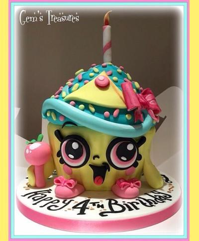 Shopkins Queen Cupcake!  by gertygetsgangster