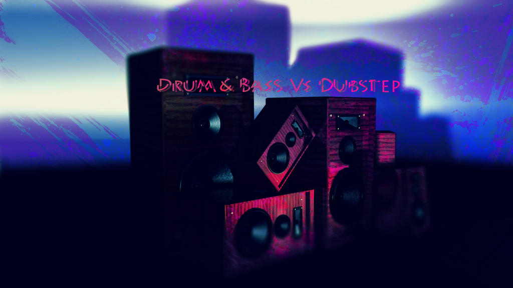 Drum n Bass vs Dubstep Speakers by Pyrogoth85 on deviantART