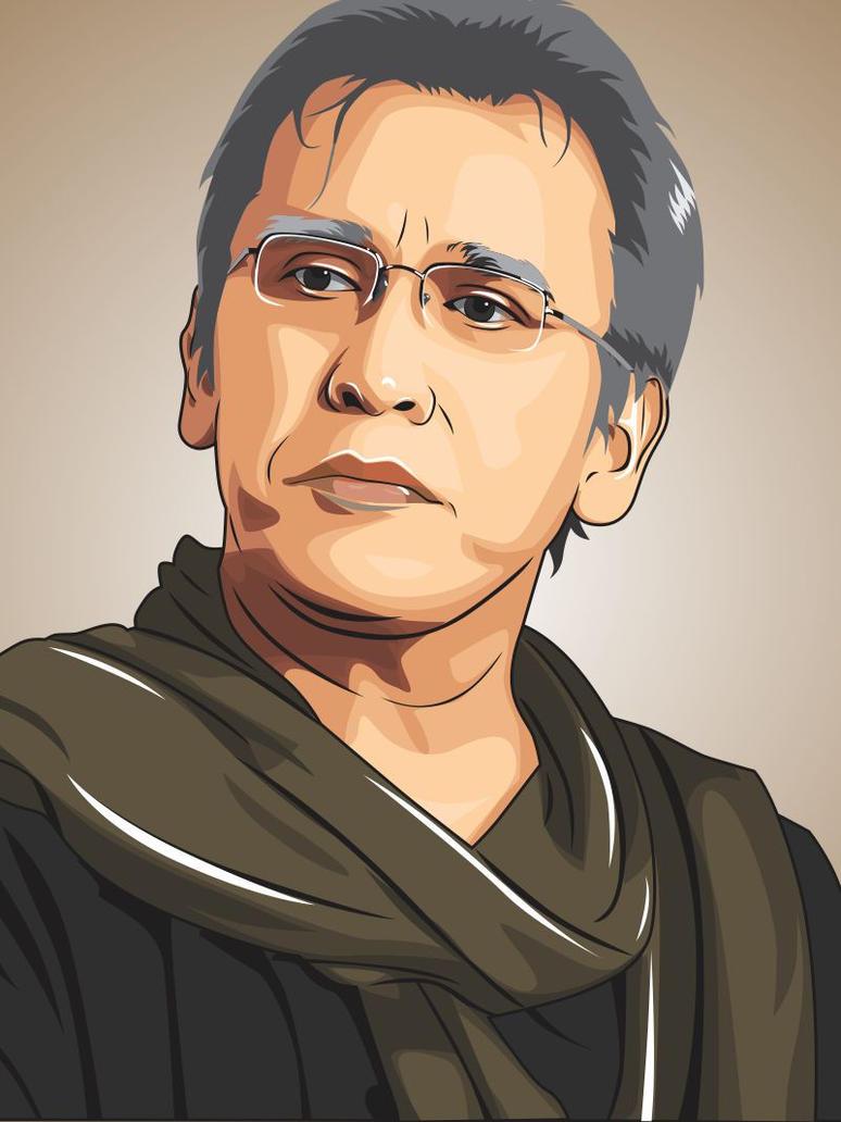 Line Art Wajah : Iwan fals by rudisign on deviantart