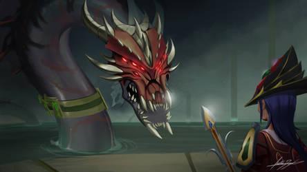 Queen Black Dragon - Runescape