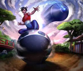 The Art Bender (Artist Avatar Challenge) by meloin