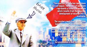 Enver Hoxha on historical progress