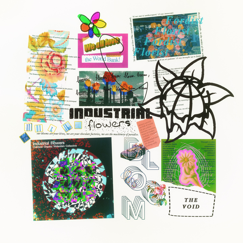 Collage 2 Industrial Flowers By Xplkqlkcassia On Deviantart