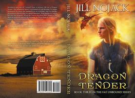 Dragon Tender - print cover by LHarper