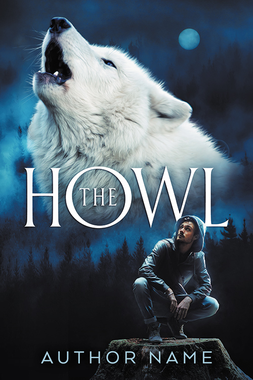 The Howl - premade book cover - SOLD by LHarper