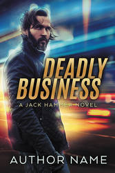 Deadly Business - premade book cover - SOLD