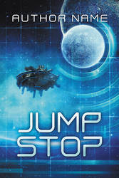 Jump Stop - premade book cover