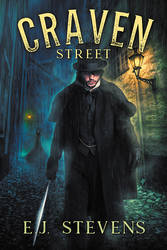 Craven Street - book cover by LHarper