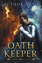 Oath Keeper - premade book cover - SOLD