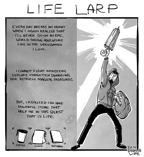 Life LARP by bensigas