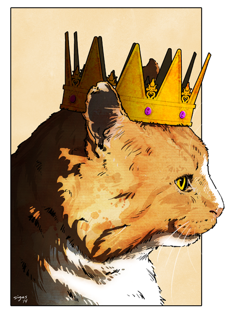 Milo the King by bensigas