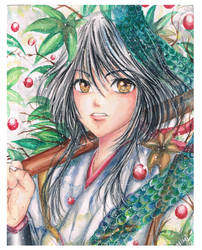 Yuzu Kiryu2 by mangamimi08