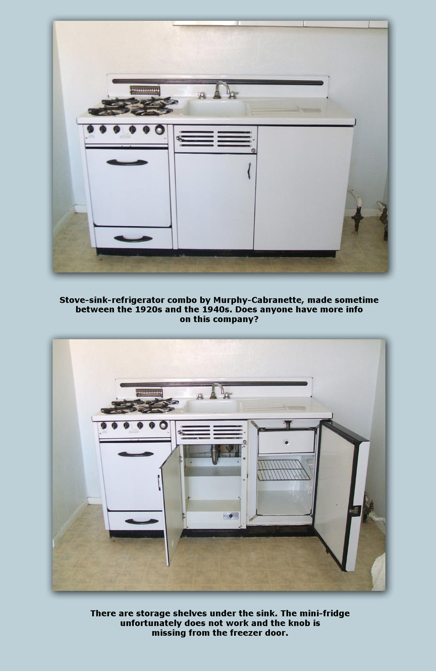 Medium image of     vintage appliance combo by vivienne mercier