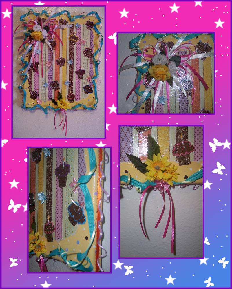Cuppie Cake collage by Vivienne-Mercier