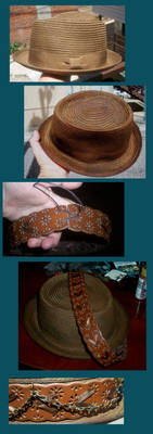 Hat WIP hatband