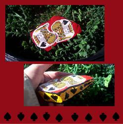 Playing card free art