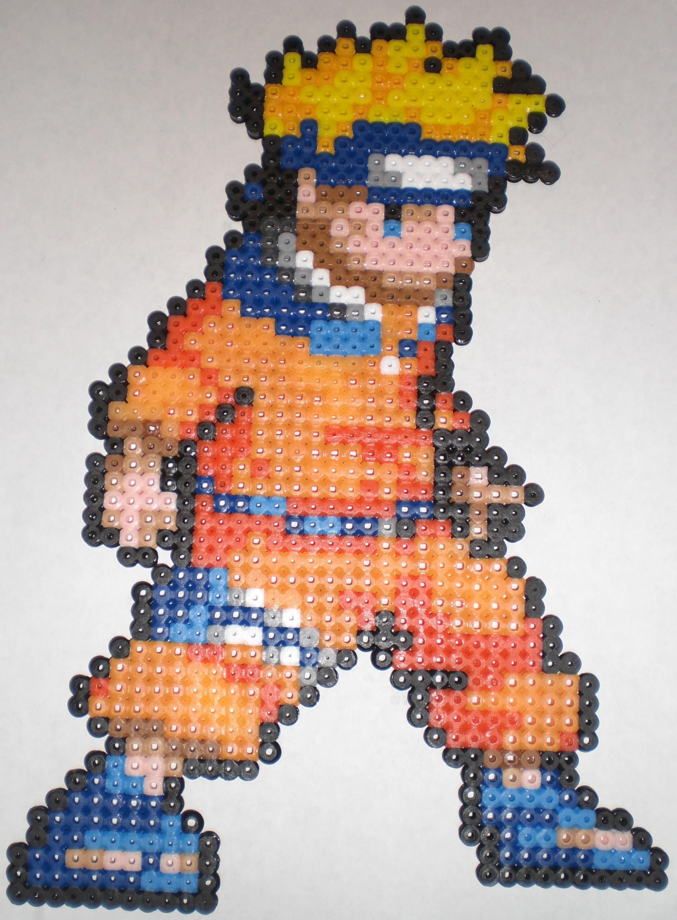 Perler Bead Patterns Naruto Bead Pattern Free