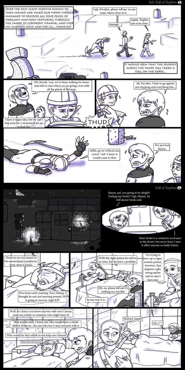 Fall of Xephos page 1 - 2 by DordtChild