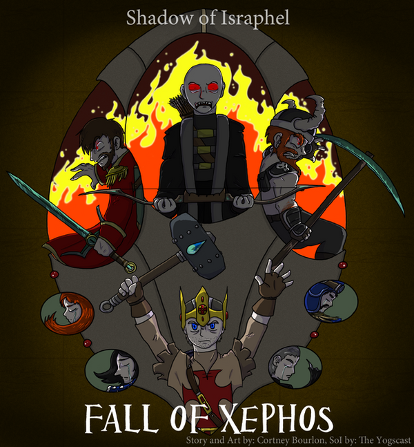 SoI Fall of Xephos - Cover 2 by DordtChild