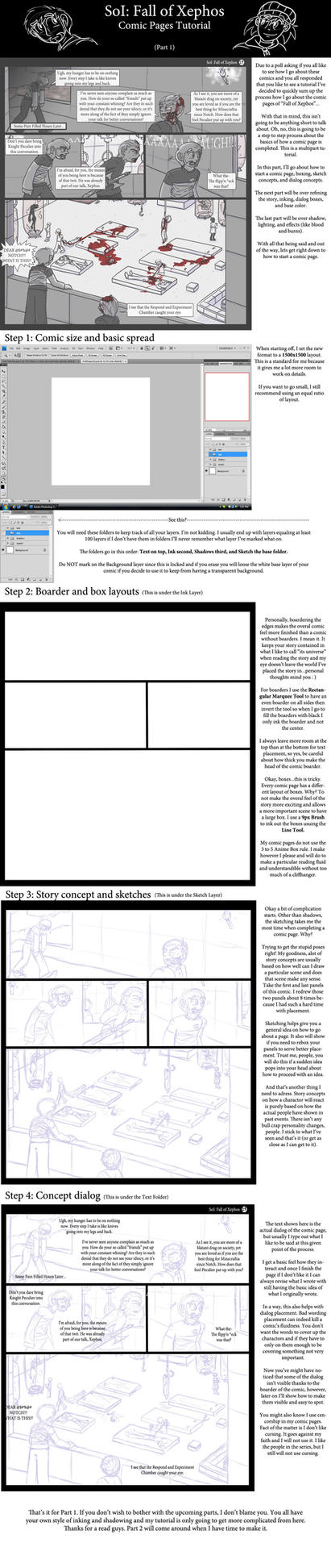 FoX Page Tutorial - part 1 by DordtChild