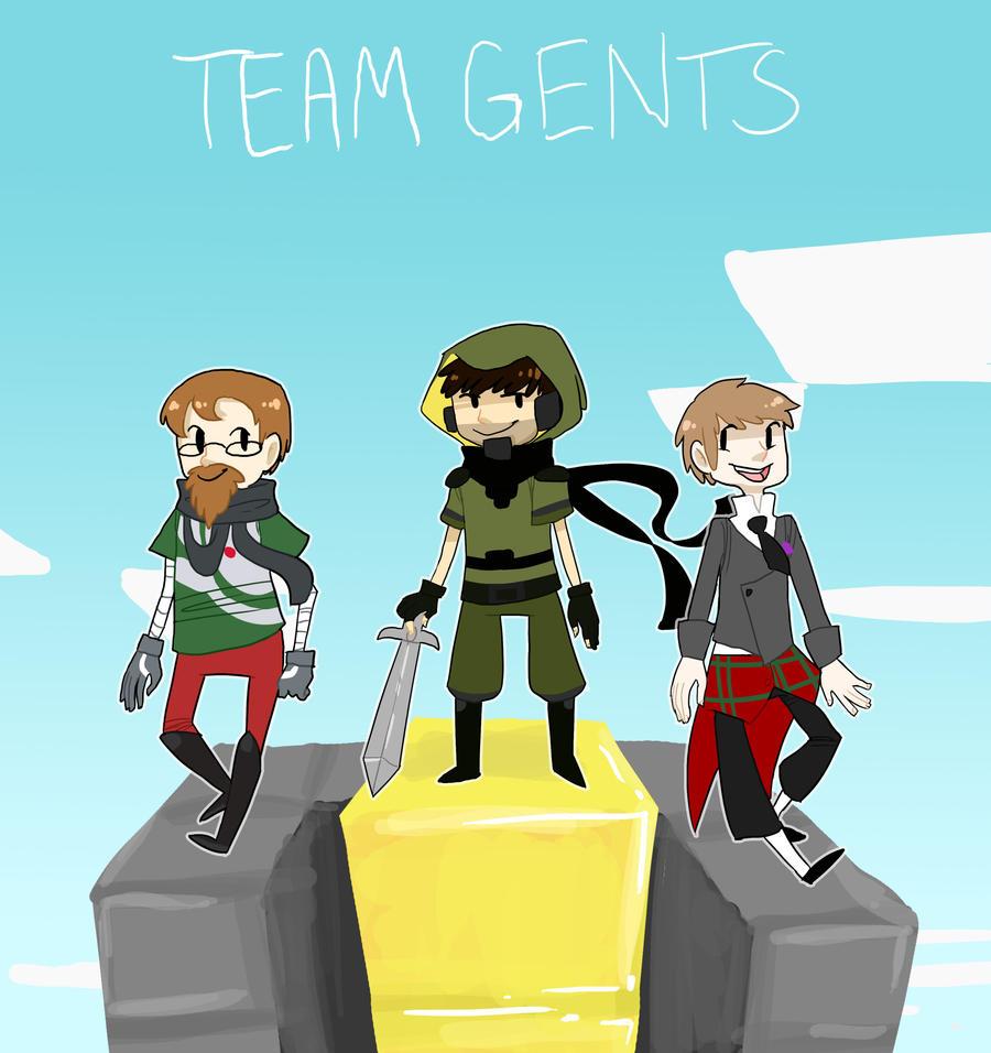 Team Gents by EllaMRed