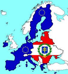 European Union and the Jagiellonian Union by Rzeczpospolita2018