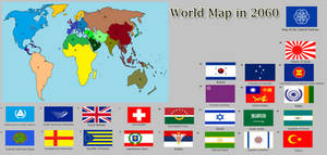 World Map in 2060