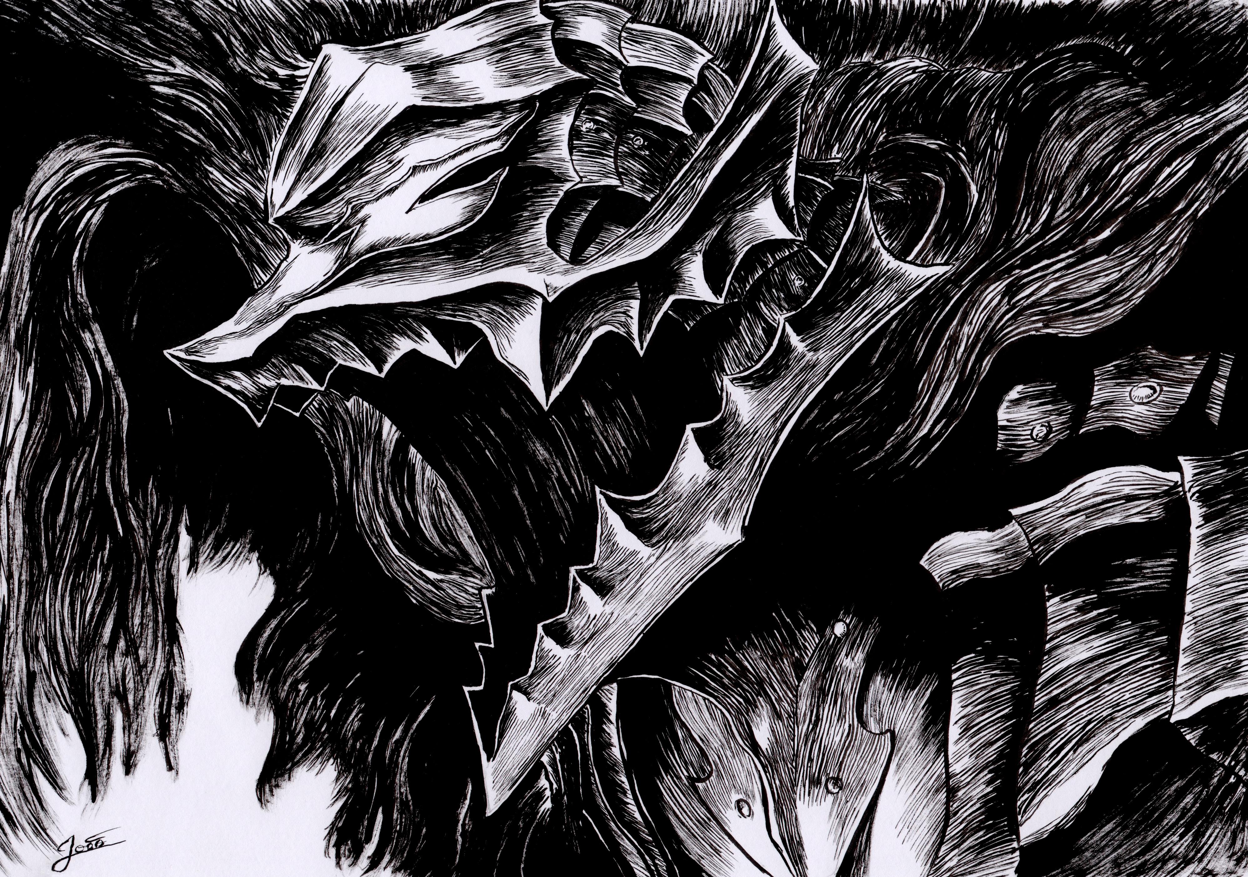 Guts Berserk Armor (Fanart) by Stanley0 on DeviantArt