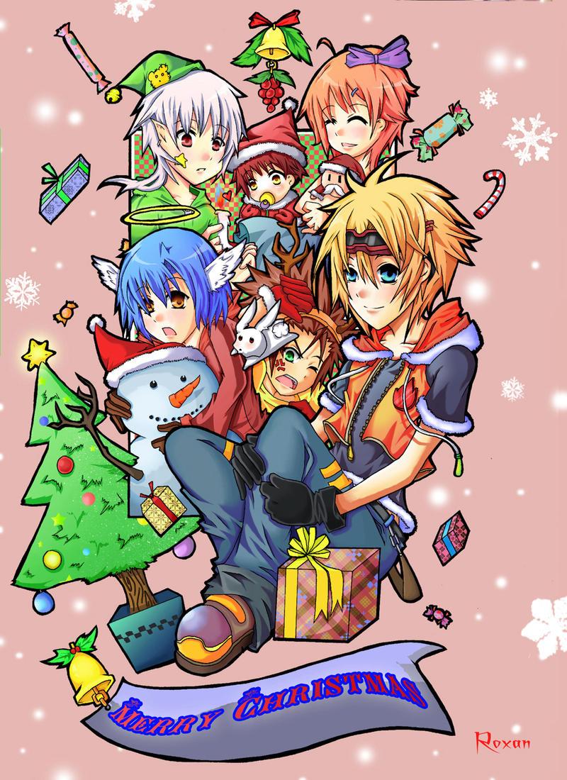 Christmas grettings 2007 by RoxanTrinity