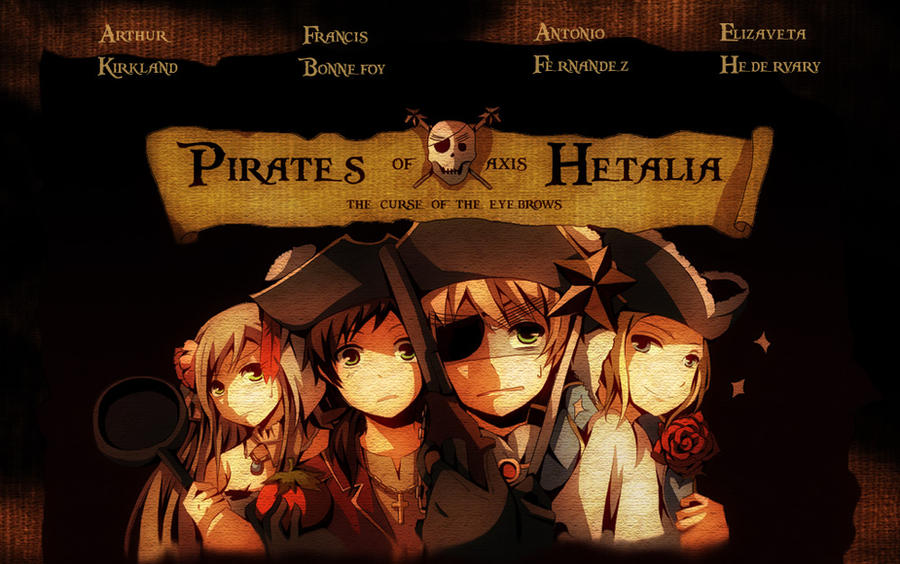 Pirates Of Axis Hetalia by RoxanTrinity