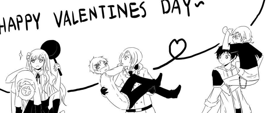Happy Valentines day?? by RoxanTrinity