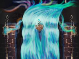 Spirit Falls by Susurratrix