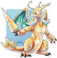 [CLosed] Samurott X Dragonite by Seoxys6