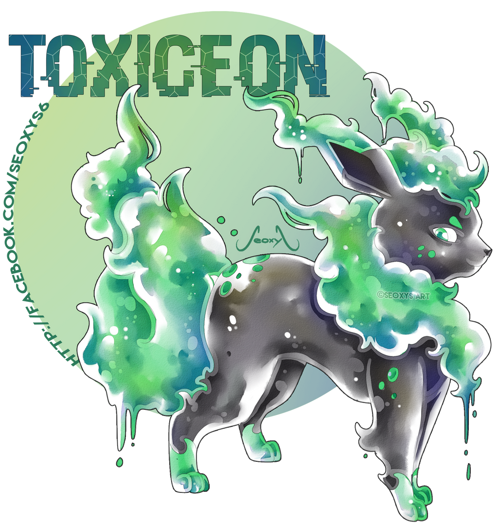 Toxiceon - Poison Eeveelution [Closed] by Seoxys6 on ...