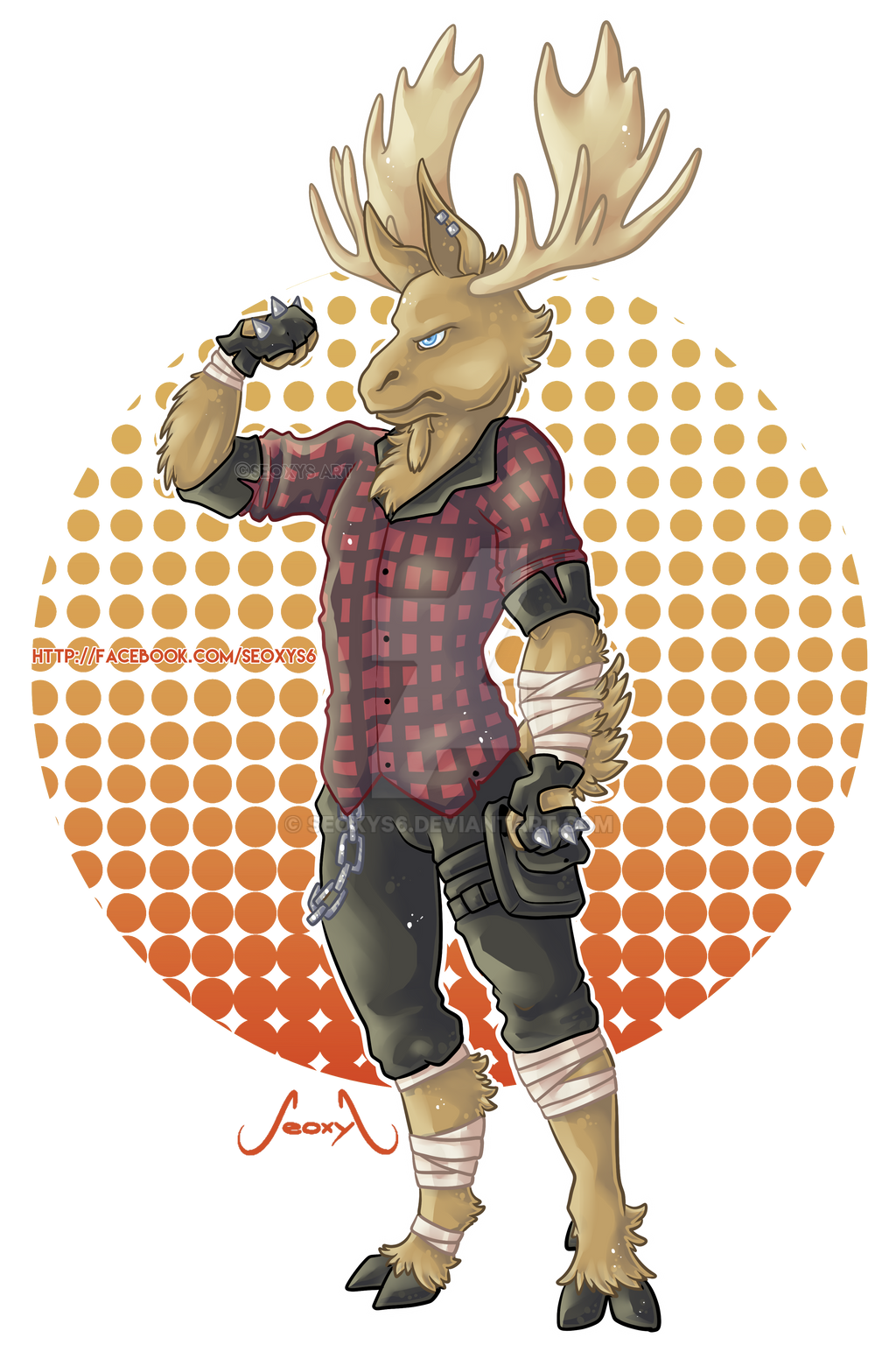 Character Design Freelance : Image gallery moose character