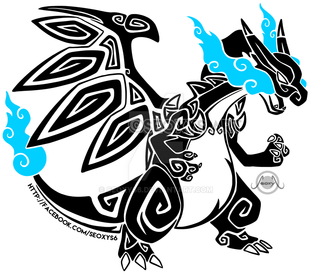 Tribal Mega Charizard X By Seoxys6 On DeviantArt