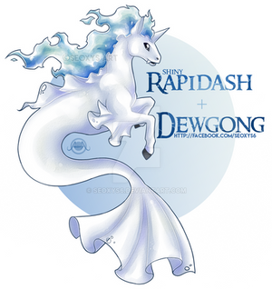 [OTA - CLOSED] Rapidash x Dewgong