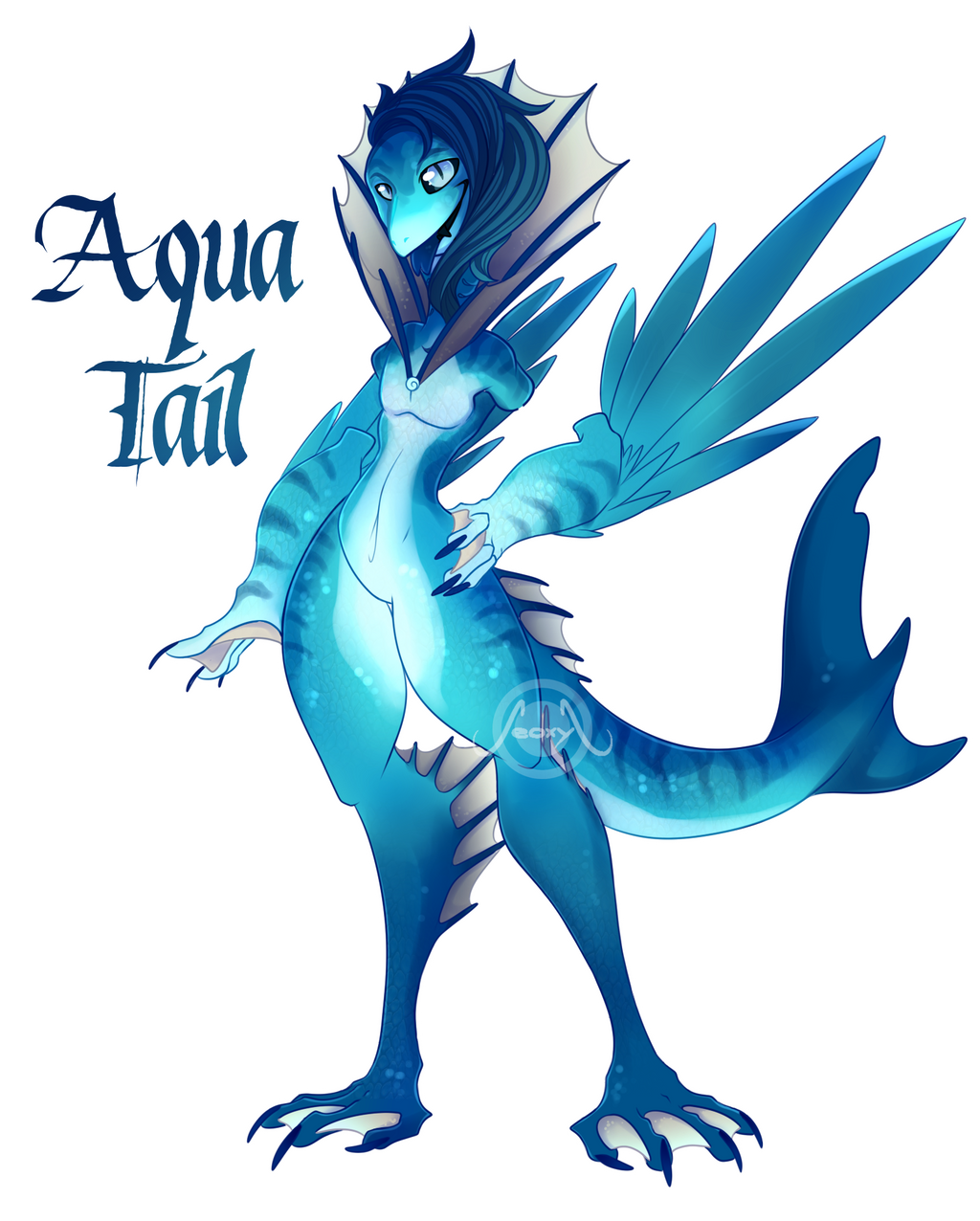 [Closed] Aqua Tail by Seoxys6