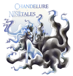 Chandelure X Alolan Ninetales [SPEED PAINT]