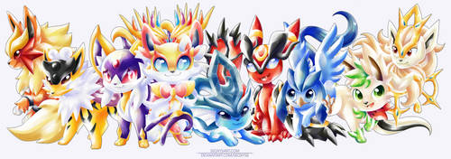 Eeveelution Fusion Party