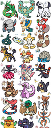 Pokemon from Memory by Seoxys6