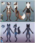 Fox and Wolf Reference Sheets