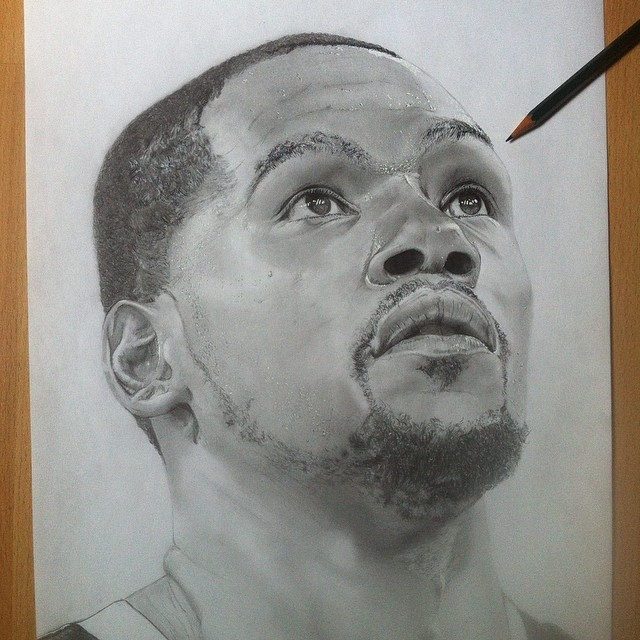 Kevin Durant Drawing Kevin Durant by Drey0505