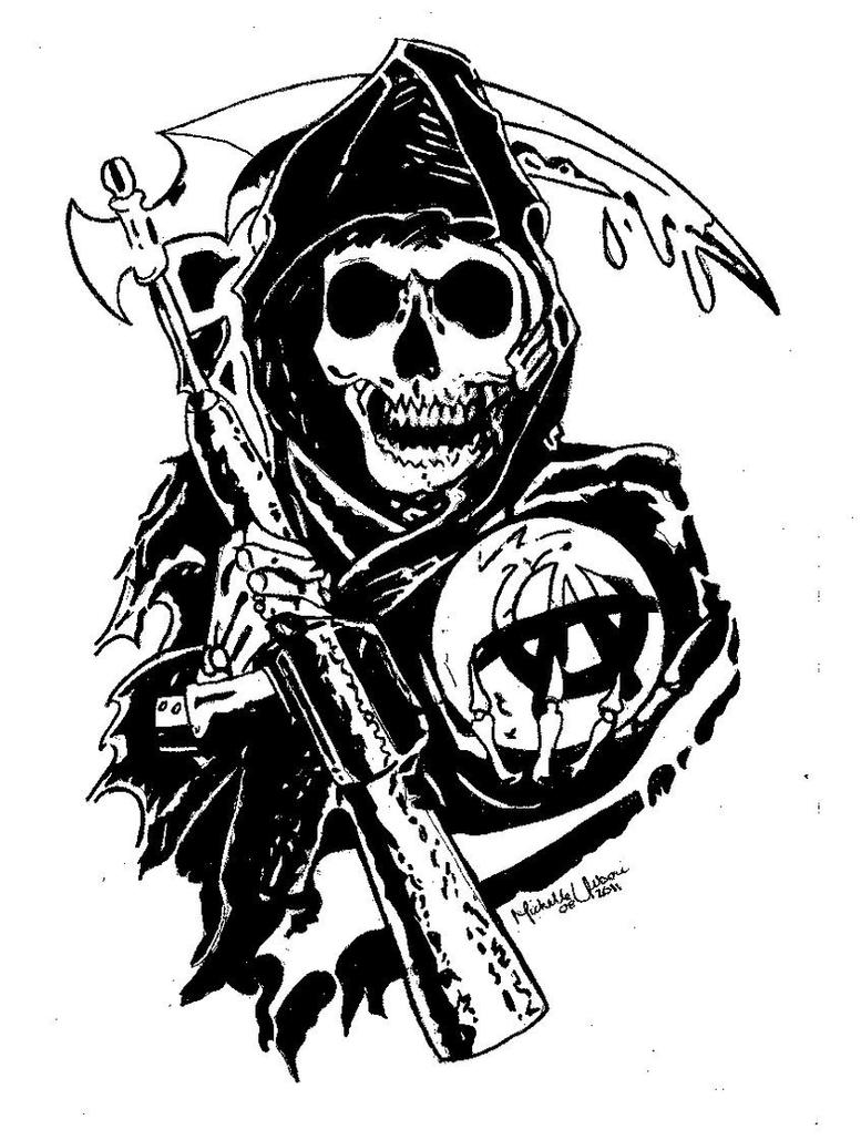 sons of anarchy reaper by michellie001 on deviantart sons of anarchy reaper logo vector sons of anarchy california logo vector